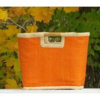 Bâtir Korg Orange. Madagaskar. Fair Trade.
