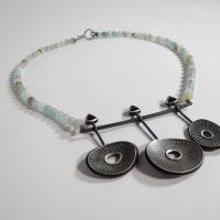Necklace Spinel by Frieda Lühl Jewellery, Namibia.