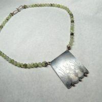 Prenite Necklace by Frieda Lühl Jewellery, Namibia.