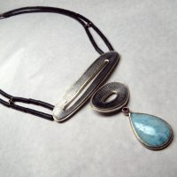 Andean Opal Necklace by Frieda Lühl Jewellery, Namibia.