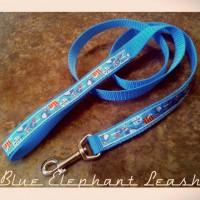 Blue Elephant hundkoppel. Namibia.