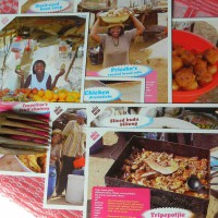 Penduka Recipes Cards x 8. Namibia.