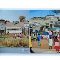 Penduka Collage Cards x 2. Namibia.