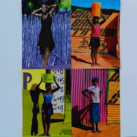 Penduka Women Cards x 4. Namibia.