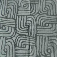 Batik Table Cloth Grey LGB. Namibia.