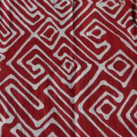 Batik Table Cloth Red LGB. Namibia.