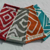 Batik Spectacle Bags Mix.  LGB. Namibia.