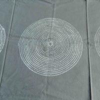 Batik Table Cloth Grey Basket. Namibia.
