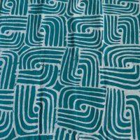 Batik Table Cloth Turkos LGB. Namibia.