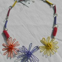 Daisy Passion Fruit Short Necklace. Fair Trade. Sydafrika.