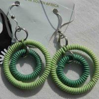 Scoobie Algae Earrings. Fair Trade. Sydafrika.
